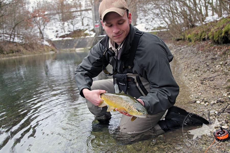 Uwe Müller Fliegenfischen Abfanggraben
